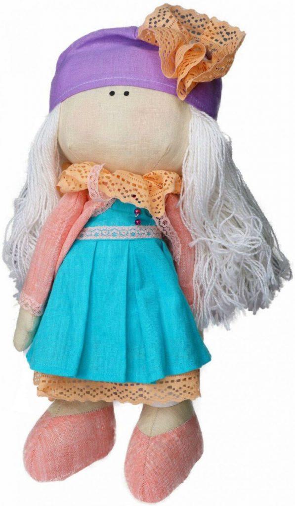 Сувенир кукла дек.  «Лили» 873-18 1с, РБ