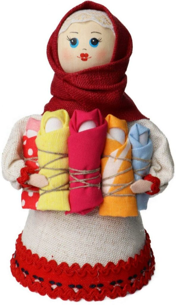Кукла сувенирная «Маланья» мод. 004-18