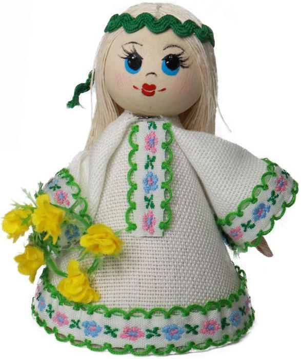 Кукла сувенирная «Купавушка», мод. 005-18, РБ