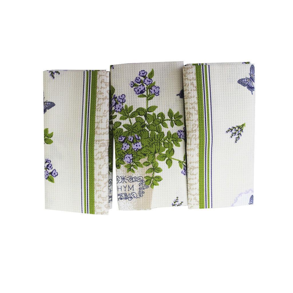Комплект вафельных полотенец (3 шт.)