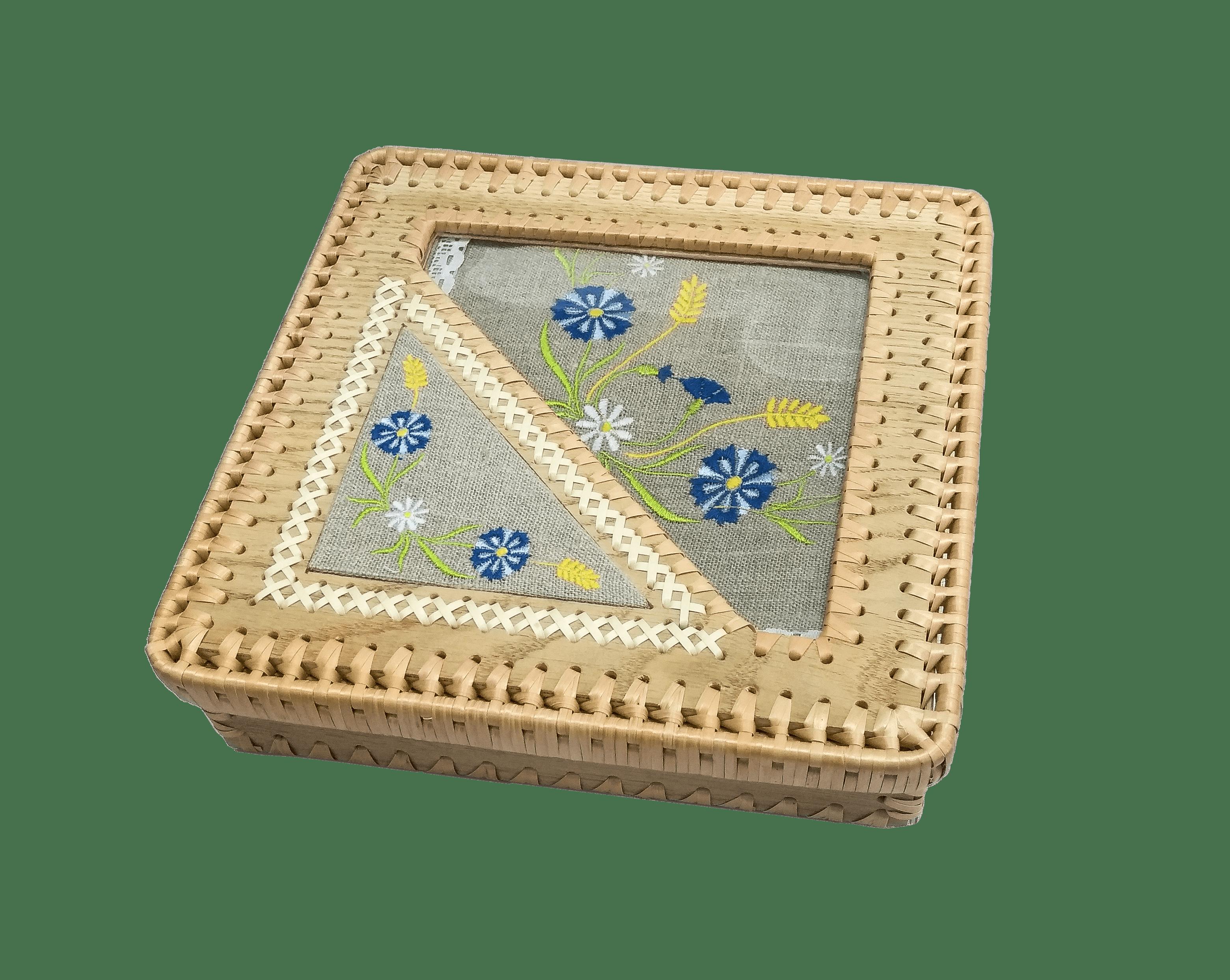 Шкатулка (с чайным комплектом)