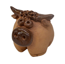 Сувенир керамический бычок 20с4382