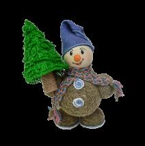 Сувенир «Снеговик с ёлкой»