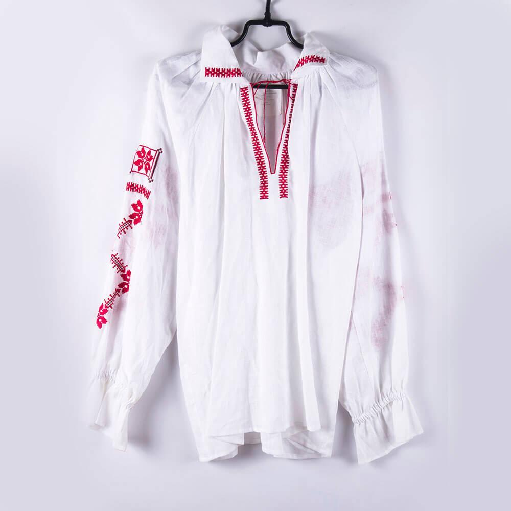 Блуза женская с вышивкой рис. 165-13