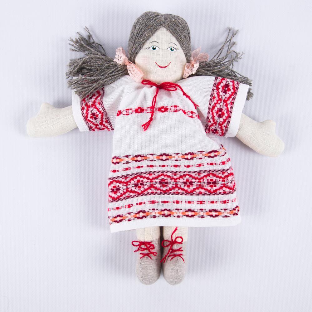 Кукла сувенирная декоративная «Алеся» рис. 804-18