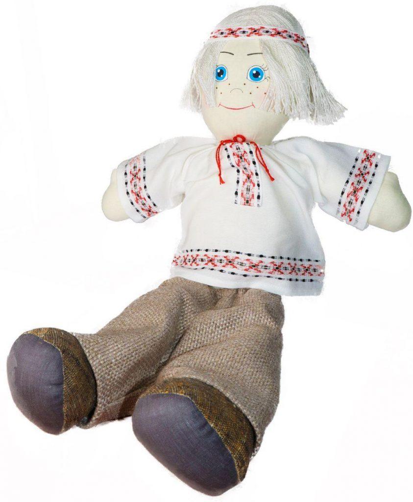 Сувенир кукла дек. 907-18 1с «Миколка», з.№4 от 18.04.18 г.