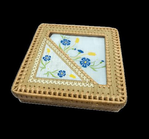 Шкатулка (с чайным комплектом) мод. 16-811-17