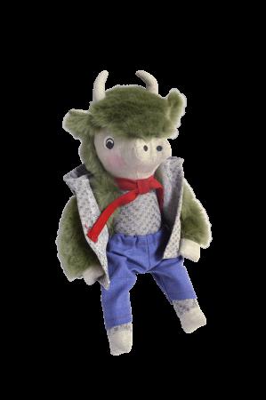 Сувенирная кукла «Зубр Яша»,537-20,РБ