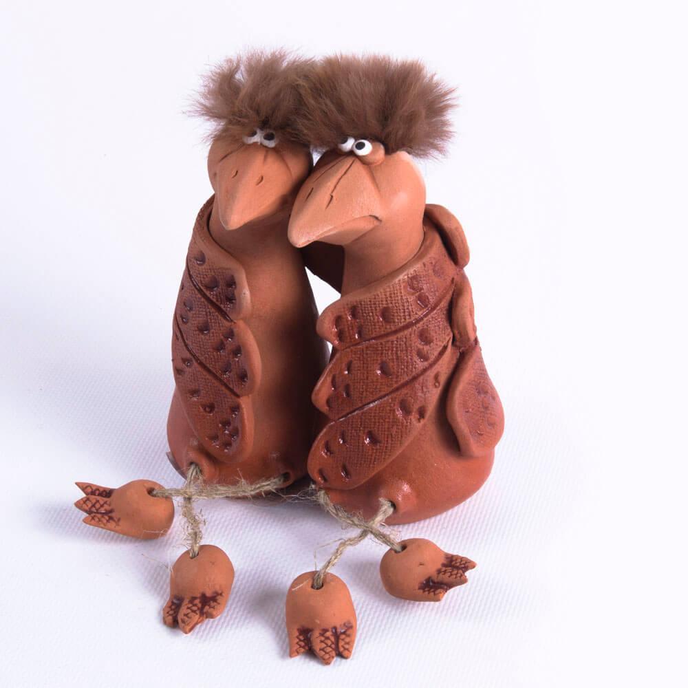 Скульптура «Влюбленные вороны » рис. 796-19