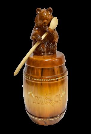Медведь (с бочкой 2л) рис. 91-2017